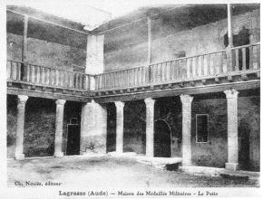 ABBAYE DE LAGRASSE AUTREFOIS 2