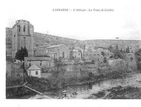 ABBAYE DE LAGRASSE AUTREFOIS 3