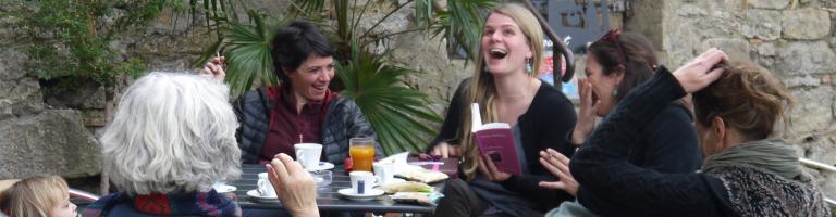 CAFE LITTERAIRE ABBAYE DE LAGRASSE 2